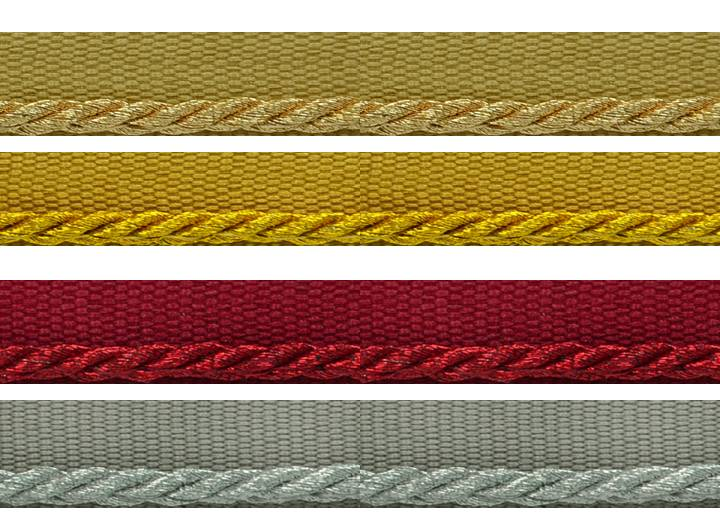 1/8 inch Metallic Lip Cord Trims