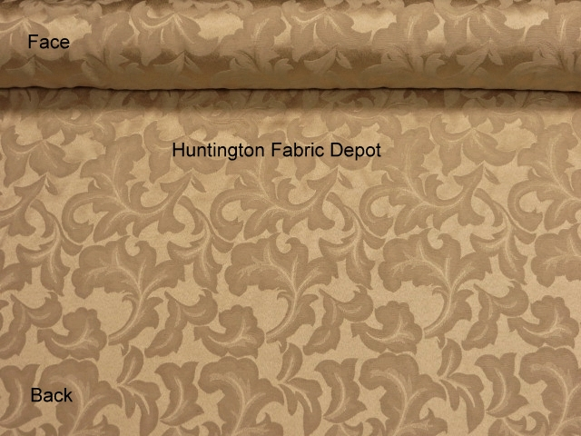 Antique Gold Jacquard-Design Tulip