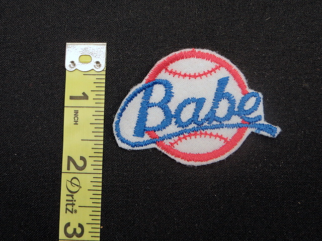 Baby Baseball Applique