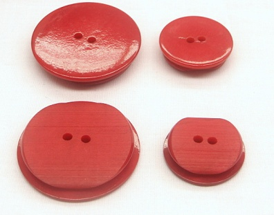Big Red Coat/Jacket Buttons