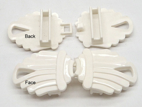 Off White Fashion Cinch Buckle Set
