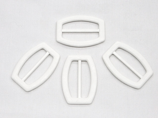 White Fashion Buckle