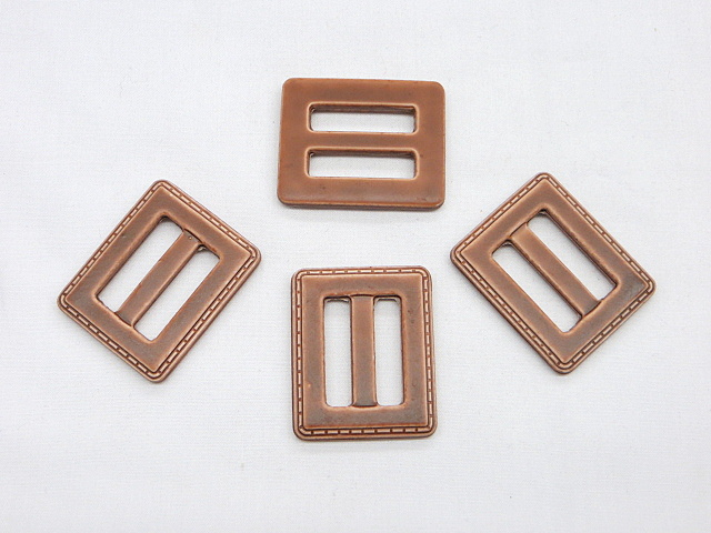 Brown Belt/decorative Accent Buckle