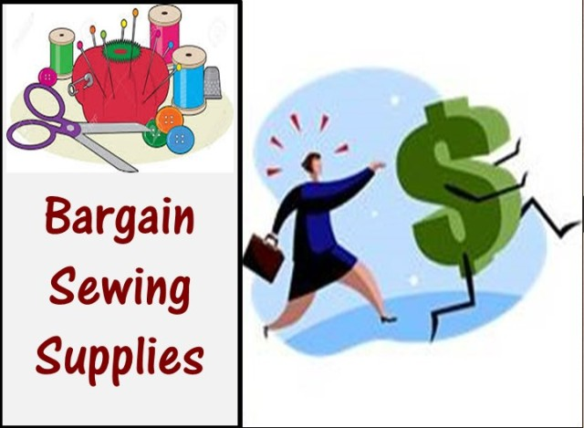 Bargain Sewing Supplies