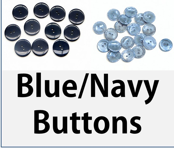 Blue/Navy Buttons