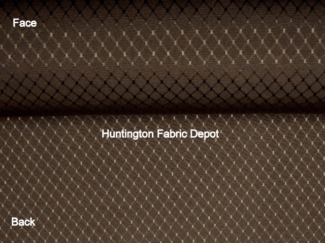 Chocolate/Dark Brown Jacquard-Design Coriander