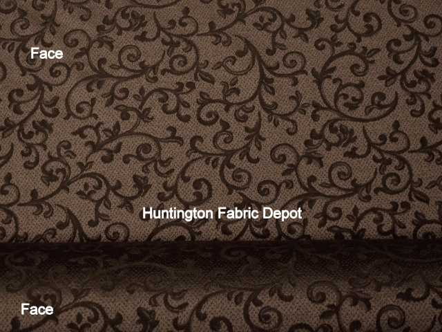 Chocolate/Dark Brown Jacquard-Design Diva