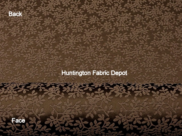 Chocolate/Dark Brown Jacquard-Design Lina