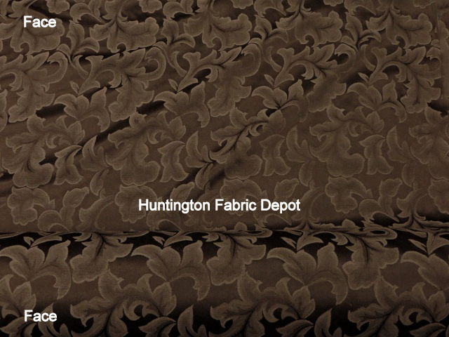 Chocolate/Dark Brown Jacquard-Design Tulip