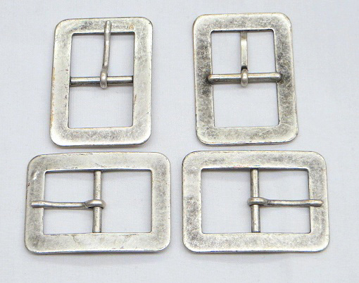 Antique Silver Vintage Metal Buckle