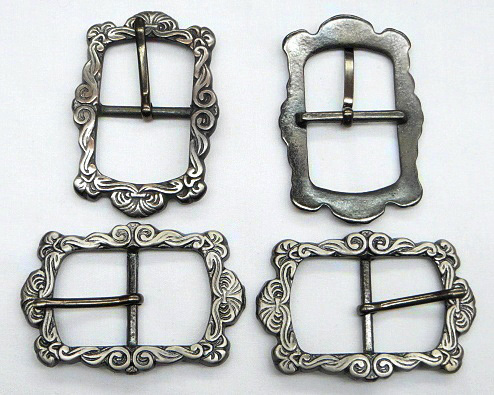 Antique Silver Vintage Buckle