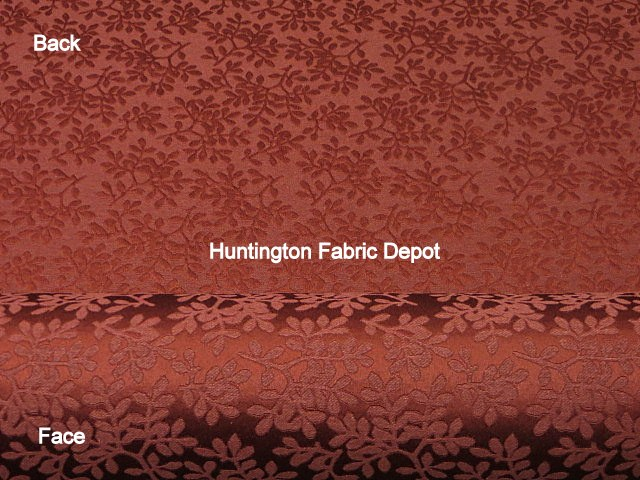 Claret/Burgundy Jacquard Design/Lina-New Castle Collection