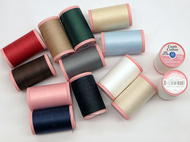 Coats & Clark Hand Quilting Cotton Thread-350 yards