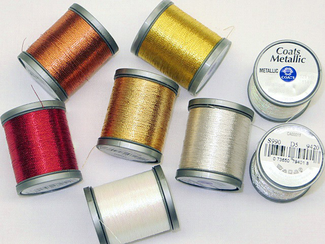 Coats & Clark Metallic Thread-125yds