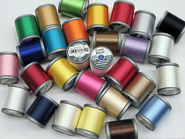 Coats & Clark Rayon Machine Embroidery Threads