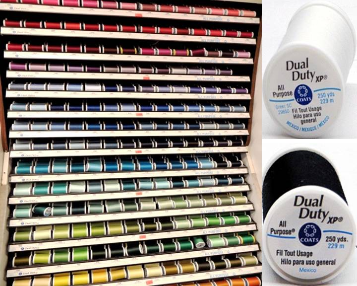 Coats & Clark Dual Duty XP General Purpose Thread - 300 Colors