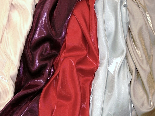 Shimmery Satin Fabric