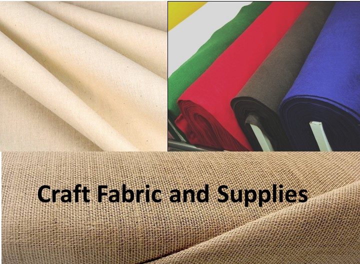 Craft Fabric and Supplies