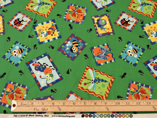 Bugs Print by Blank Quilting
