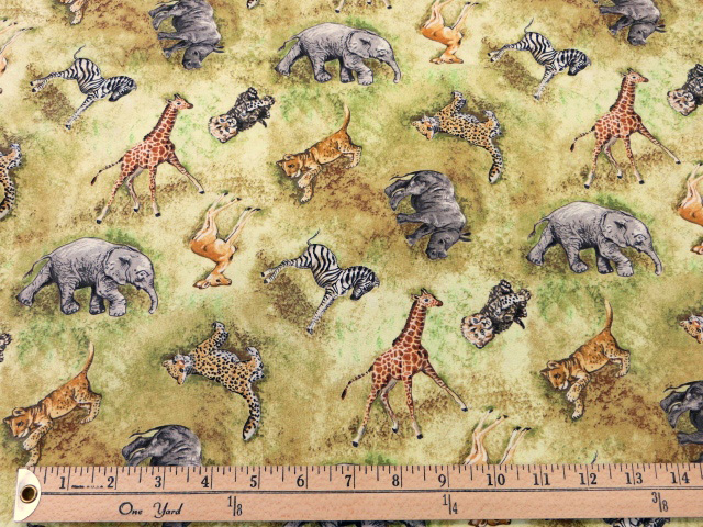 African Wildlife by Blank Quilting