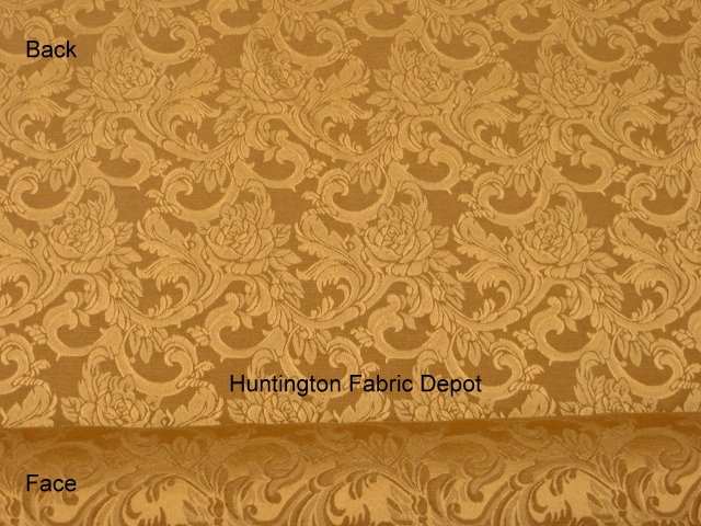 Curry/Golden Tan Jacquard-Design Sofia