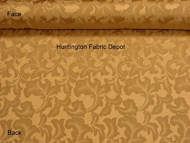 Curry/Golden Tan Jacquard-Design Tulip