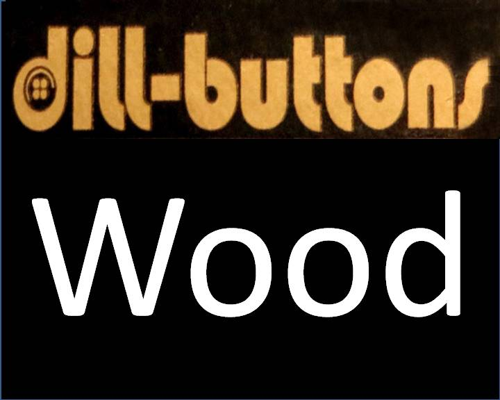 Wood Buttons by Dill
