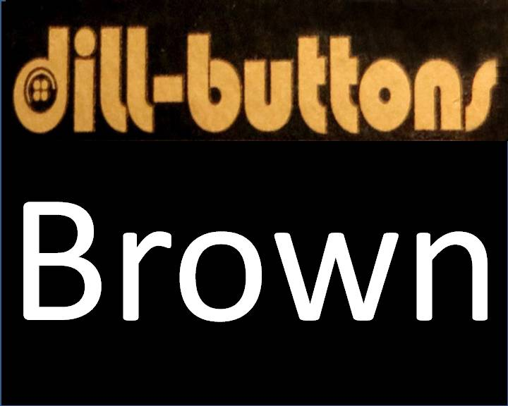 Brown Buttons by Dill