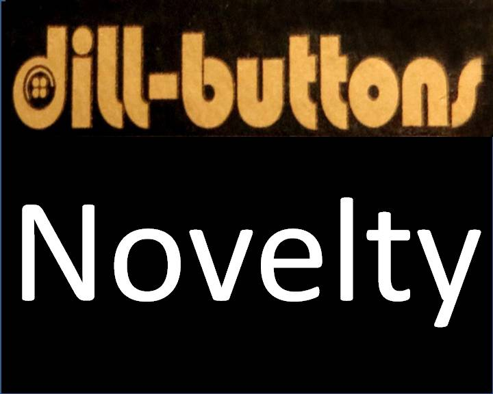 Novelty Buttons by Dill