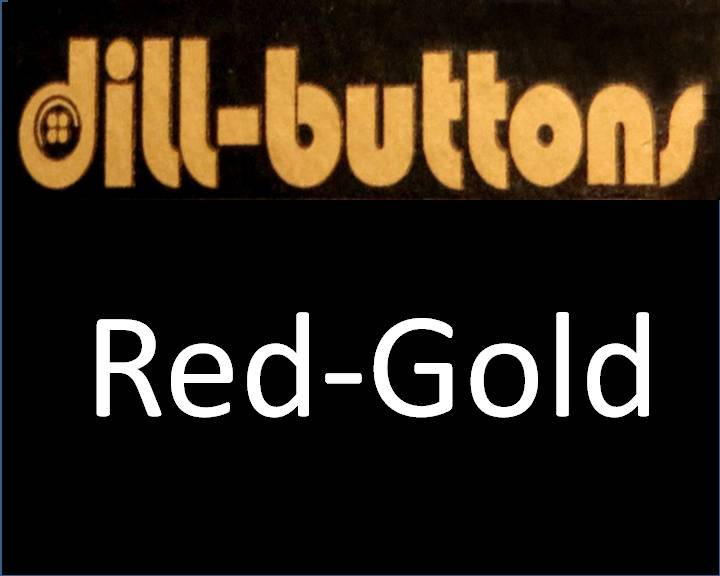 Red/Gold Buttons by Dill
