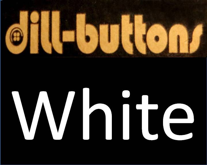 White & Off-white Dill Buttons