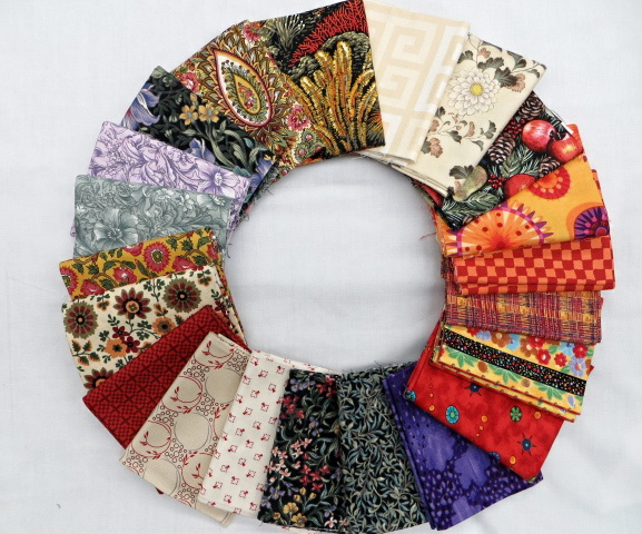 Printed Fat Quarter by Piece