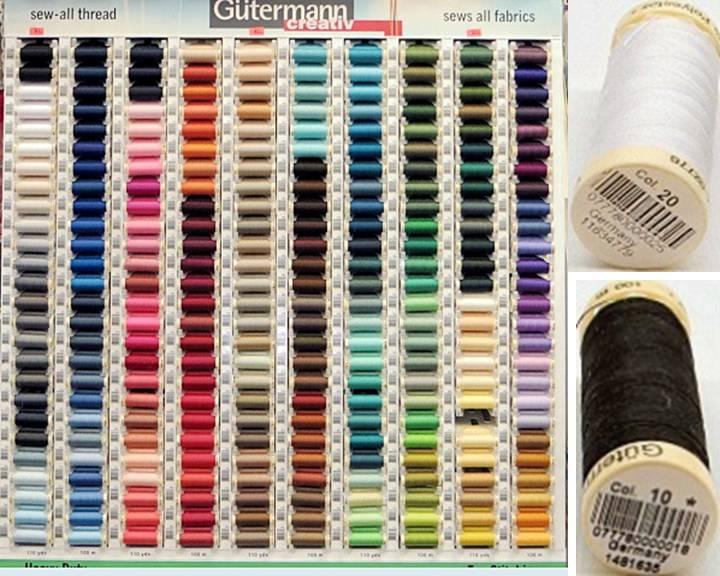 Gutermann Sew All Thread 110 Yards