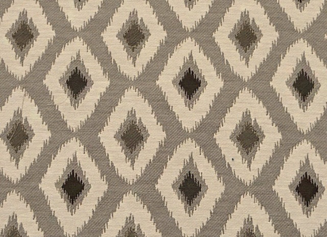 Grey/Natural Heavy Upholstery Fabric