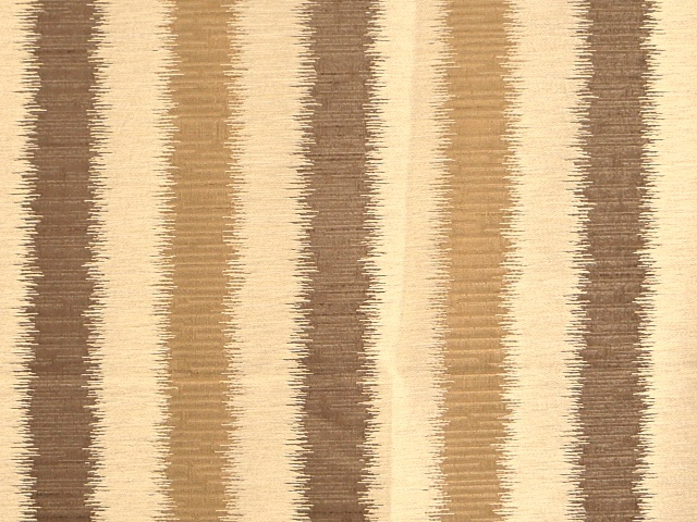 Brown Vertical Striped Fabric