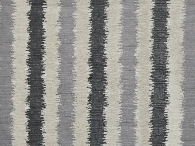 Grey Vertical Striped Fabric