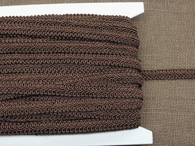 Chocolate Alice Classic Woven Braid Trim
