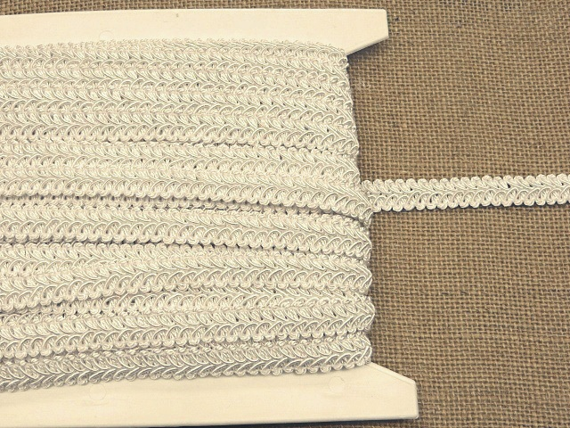 Ivory Alice Classic Woven Braid Trim