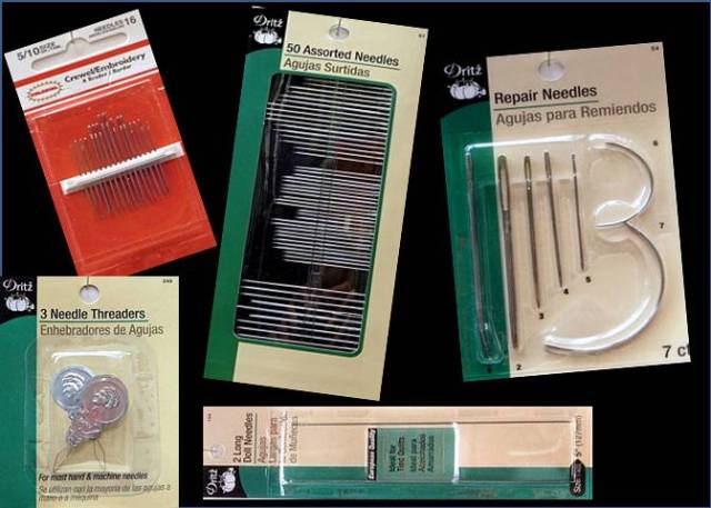 Hand Sewing Needles & Threaders
