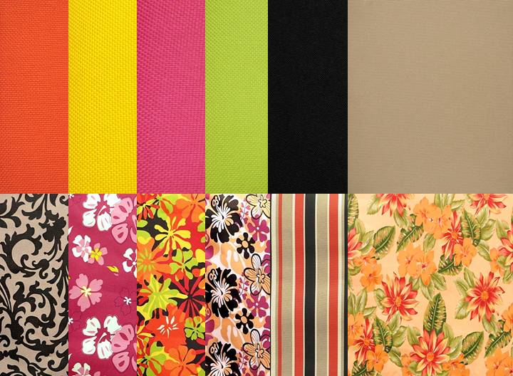 Outdoor Marine Fabric Solids and Prints