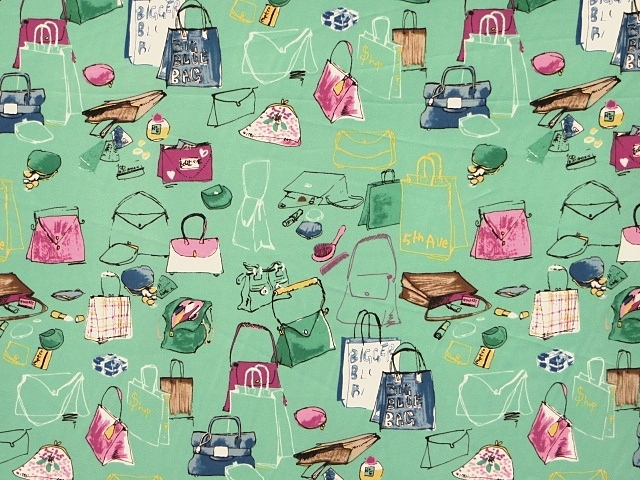 Polyester Novelty Print Fabric