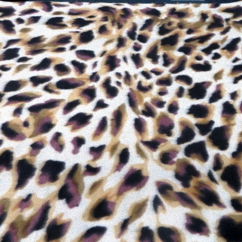 Cheetah Print Fleece Fabric
