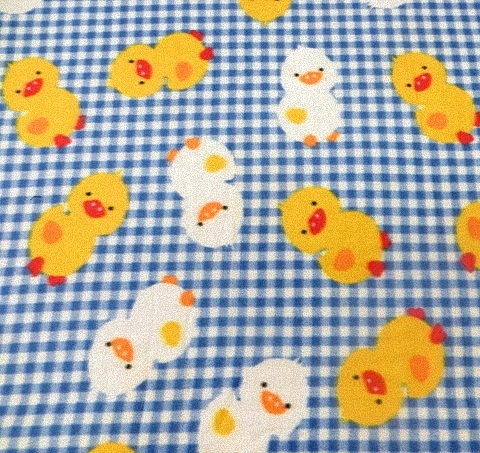 Chicks Fleece Fabric