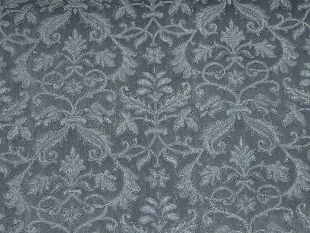 Blue Jacquard Vinyl For Residential/Commercial/Hospitality Appl.