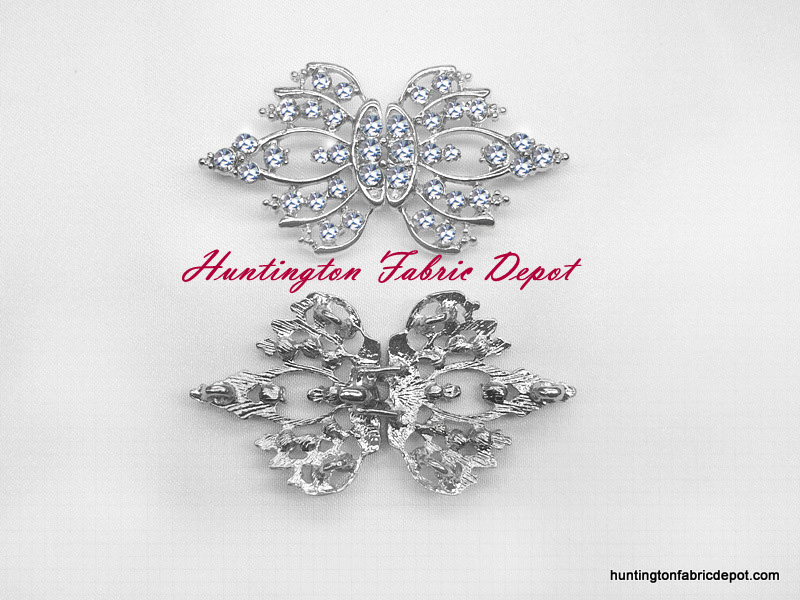 Rhinestone Hook & Eye Closures