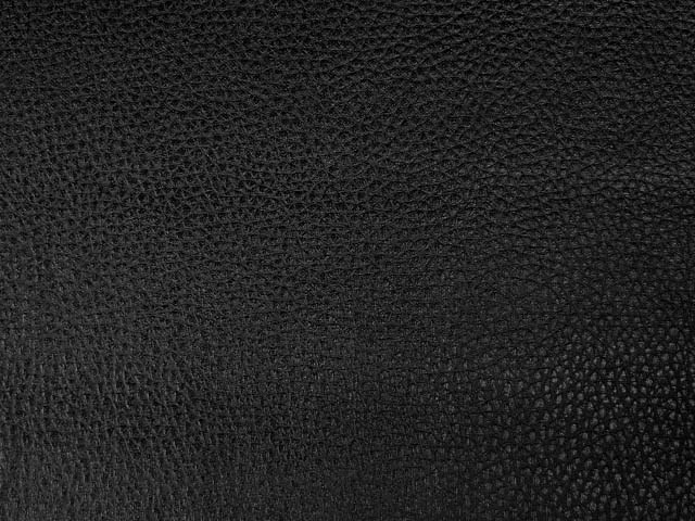 Black Textured Pleather/Faux Leather