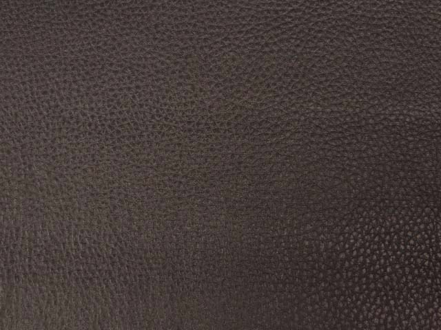 Brown Textured Pleather/Faux Leather