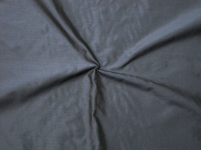 Dark Navy Silk Taffeta
