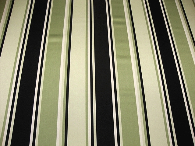 Striped Silk Satin Fabric