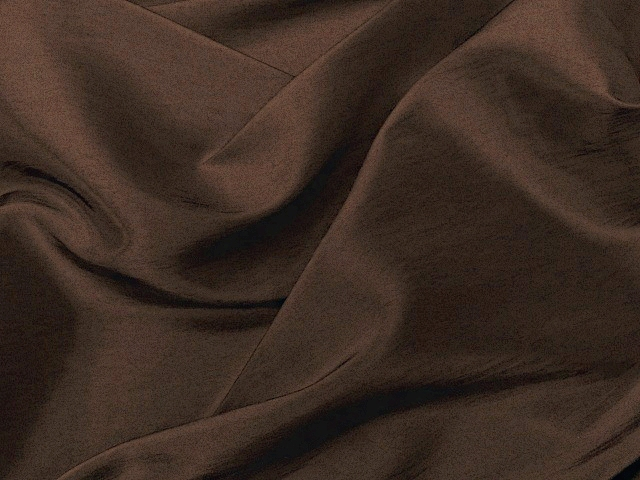 Chona Brown Taffeta Fabric